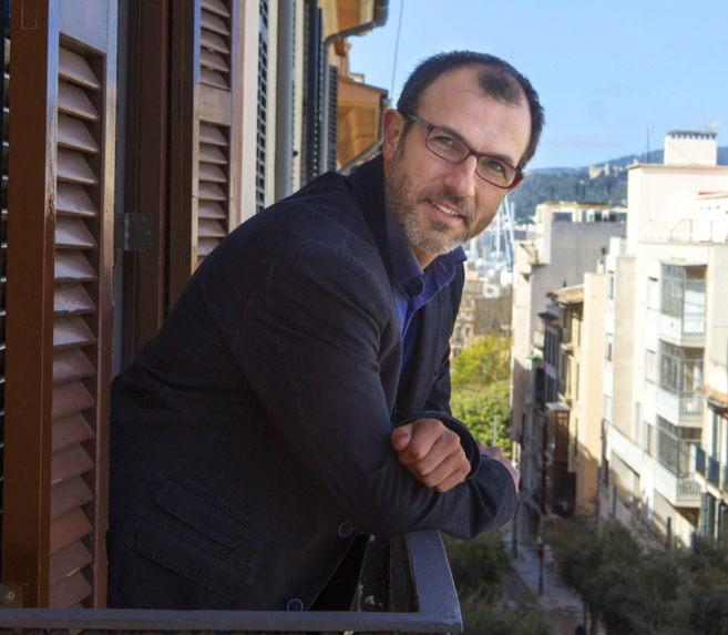 El candidato de MÉS a la presidencia del Govern, Biel Barceló, esta...