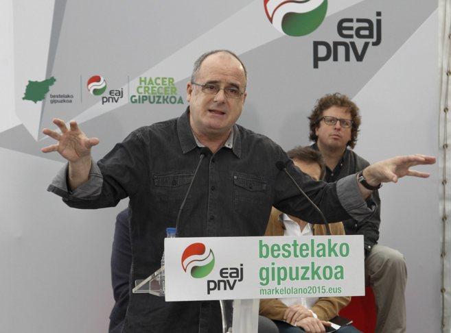 El portavoz parlamentario del PNV y presidente del GBB, Joseba Egibar.