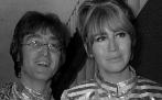 John y Cynthia Lennon, en una imagen de agosto de 1968.