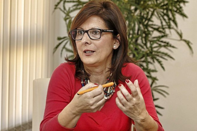 Belén Payá, presidenta del Colegio de Enfermería de Alicante,...