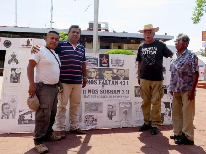 Ciudadanos de Iguala reivindican la búsqueda de los 43 estudiantes...