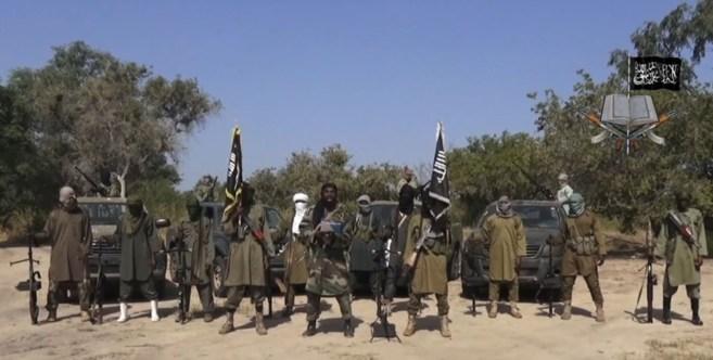 Captura de un vídeo difundido en octubre en el que el líder de Boko...