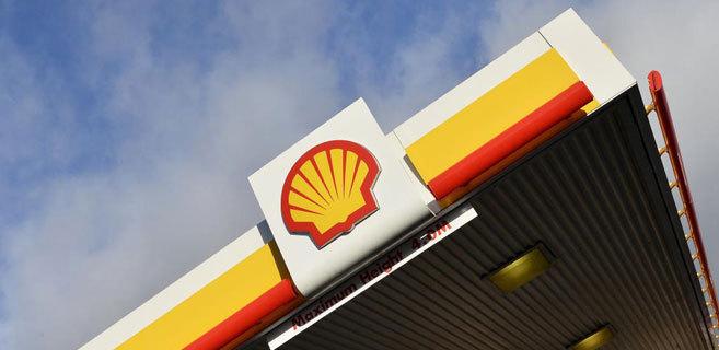 Estación de servicio de Shell en Londres.