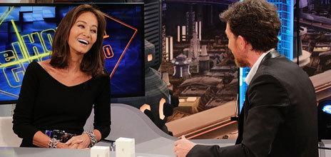 Isabel Preysler anoche en El Hormiguero, de Antena 3