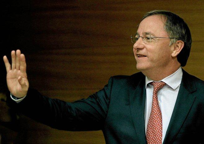 El conseller de Hacienda, Juan Carlos Moragues