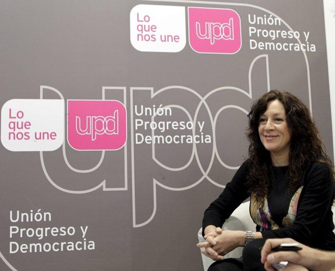 Alicia Andujar, portavoz de UPYD en Valencia y ahora candidata a la...