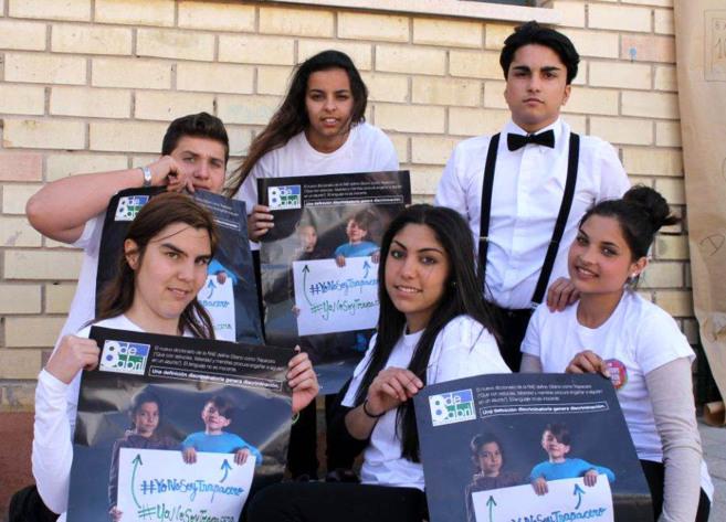 Alumnos del Centro Puig Campaña del Barrio Virgen del Carmen