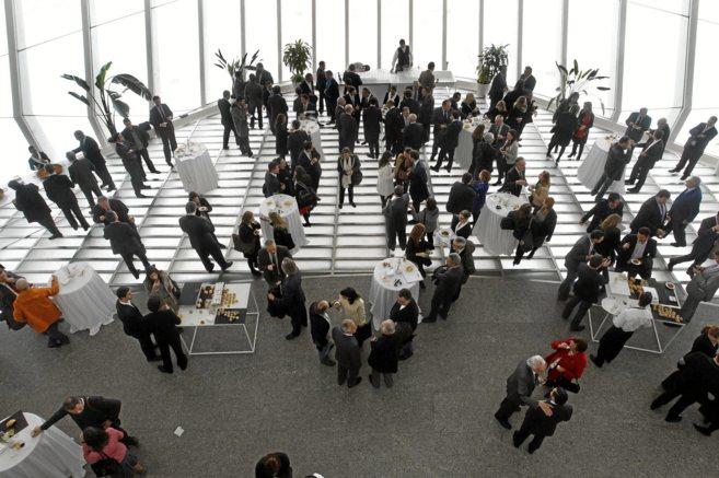 Imagen de una reunión de emprendedores realizada en España