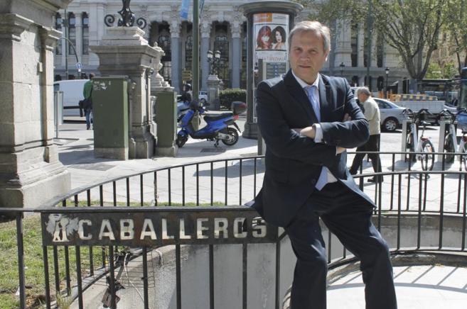 Antonio Miguel Carmona, candidato socialista a la Alcaldía de Madrid,...