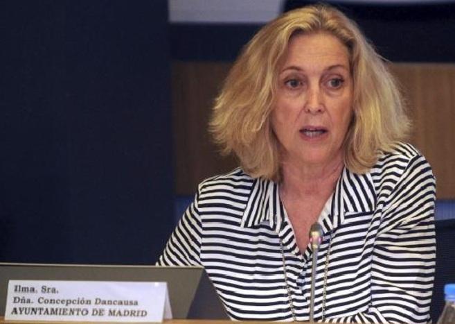 Concepción Dancausa, primera teniente de alcalde de Madrid,...