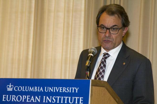 El presidente de la Generalitat, el miércoles en la Universidad de...