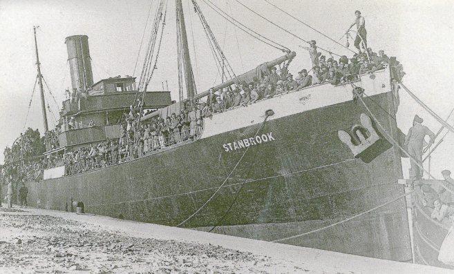 El 'Stanbrook' salvó a casi 3.000 personas llevándolos de...