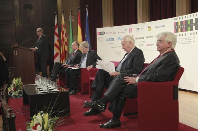 Apertura del Foro de Diálogo España Italia.