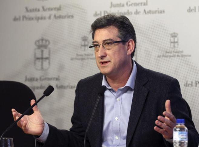 Ignacio Prendes, durante la rueda de prensa celebrada hoy.