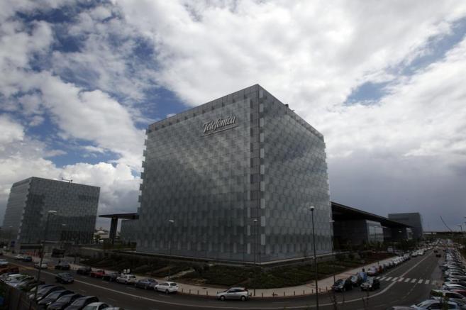 Oficinas de Telefónica en Madrid