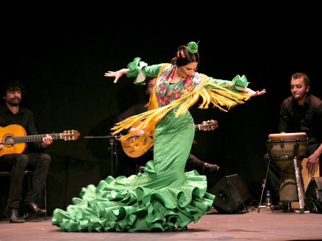 Mercedes de Córdoba durante su actuación.