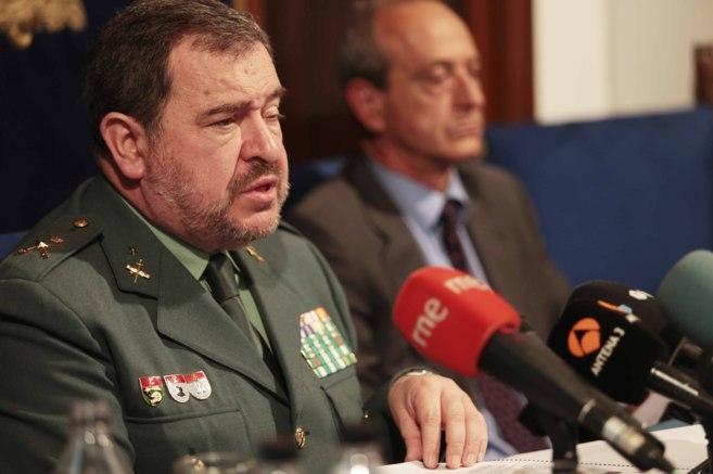 El general Pablo Salas, jefe del Servicio de Información de la...