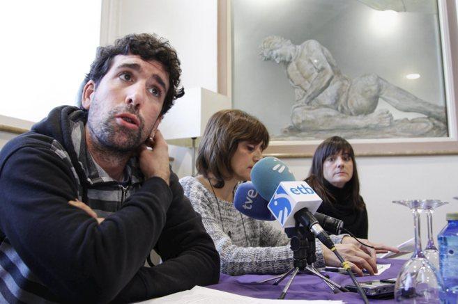 El secretario general de Podemos en San Sebastián, Hannot Sansinenea.