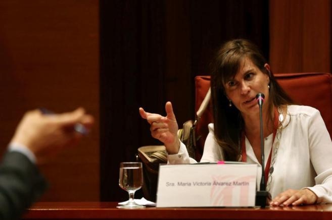 La ex pareja de Jordi Pujol Ferrusola, María Victoria Álvarez