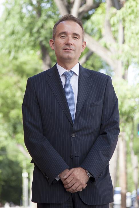 Enrique Serrano, director general de Tinámica