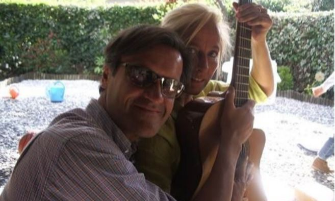 El eurodiputado socialista Juan Fernando López Aguilar y su ex mujer