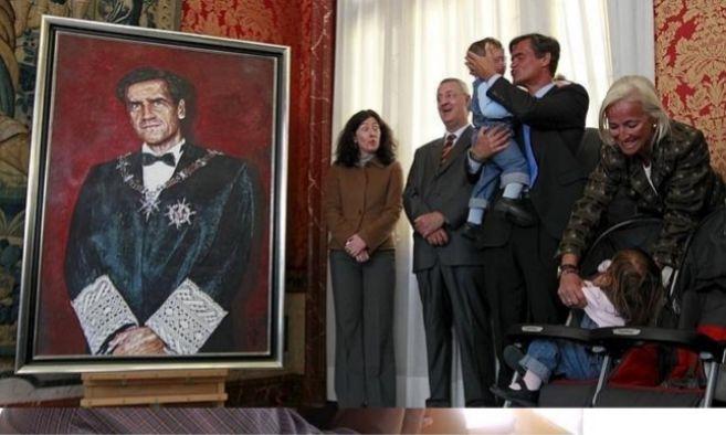 Foto familiar del día que Juan Fernando López Aguilar tomó...