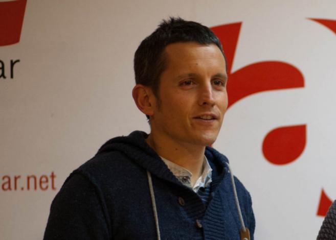 El parlamentario de EH Bilbao, Dani Maeztu.