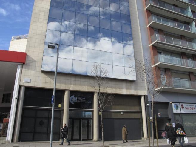 Sede de la Oficina Antifrau de Cataluña, en Barcelona.