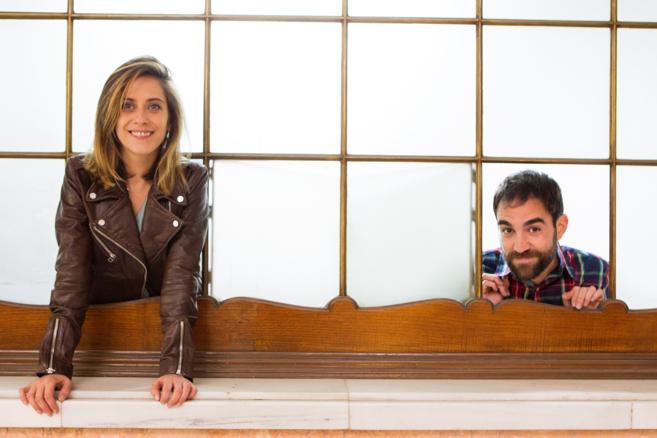La actriz María León y el actor Jon Plazaola, protagonistas de la...