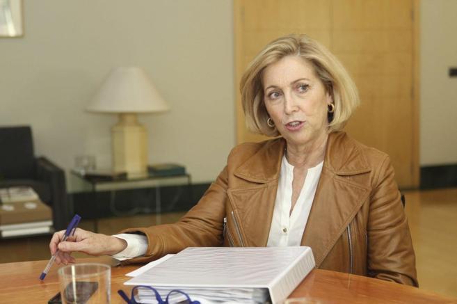 Concepción Dancausa, la nueva delegada del Gobierno de Madrid.