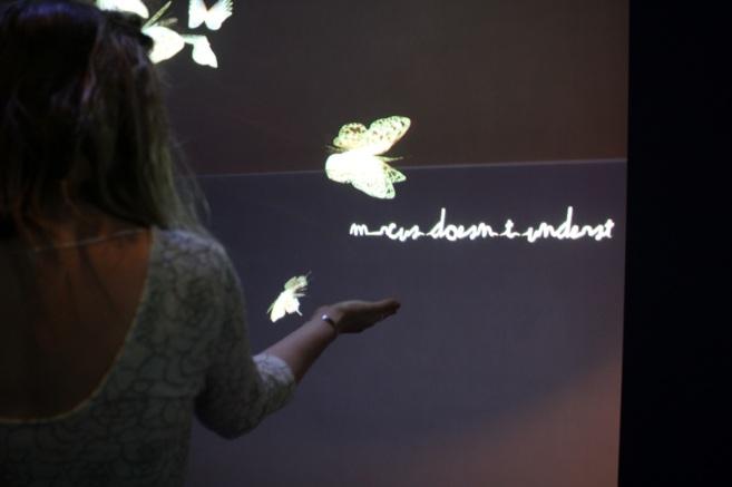 La muestra 'Wishing Wall', promovida por Google.