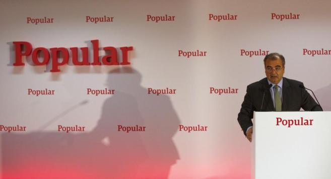 El presidente de Banco Popular, Ángel Ron