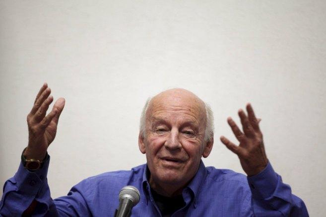 El escritor uruguayo, Eduardo Galeano.