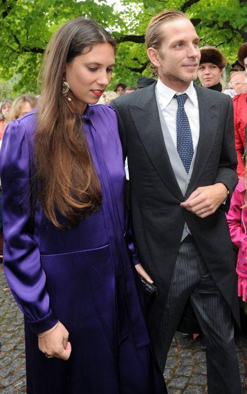 La pareja, el pasado septiembre en una boda.