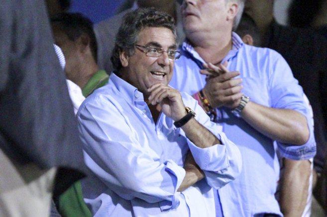 El empresario Enrique Ortiz, impulsor de la ATE de Ikea, en el palzo...