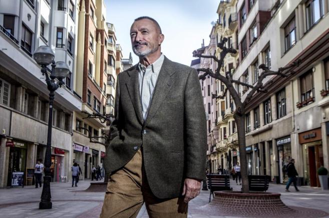 Arturo Pérez Reverte en Bilbao.