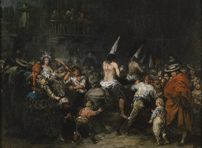 'Condenados por la Inquisición'. Eugenio Lucas Velázquez...