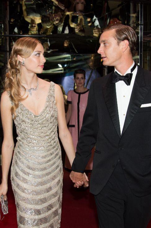 Pierre Casiraghi y Beatrice Borromeo, en el baile de la Rosa.