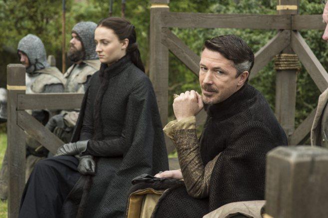 Fotograma de un episodio de 'Juego de tronos'.