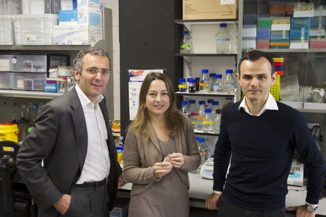 Javier Fernández, Judith Sendra y Joaquín Querols (de izquierda a...