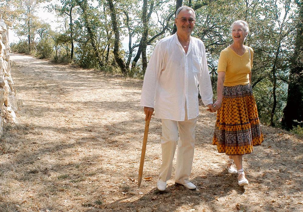 Todos los veranos, la reina Margarita de Dinamarca y su marido, el...