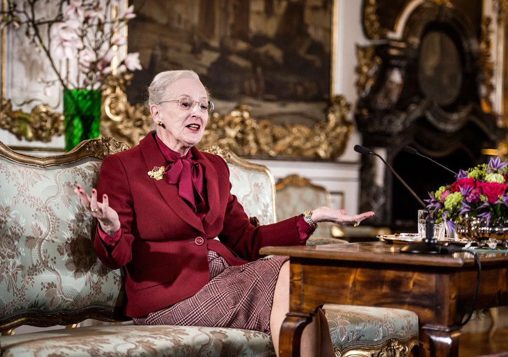 El pasado lunes, la reina dio un discurso con motivo de su 75...