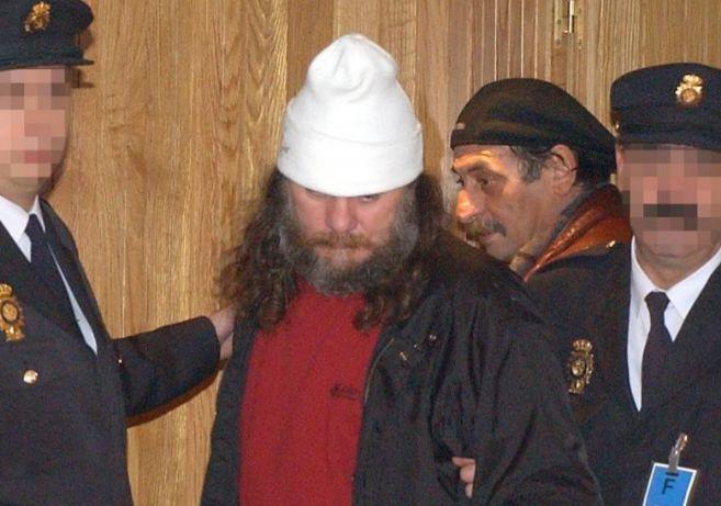 El narcotraficante Sito Miñanco, en la Audiencia Nacional en 2001.