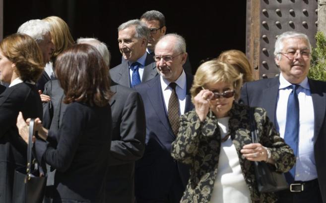 El ex ministro y ex presidente de Bankia, en una imagen del pasado 6...