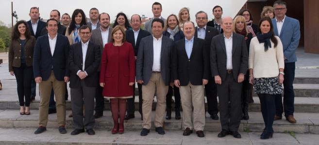 Todos los miembros de la candidatura del PP a las Cortes Valencianas...