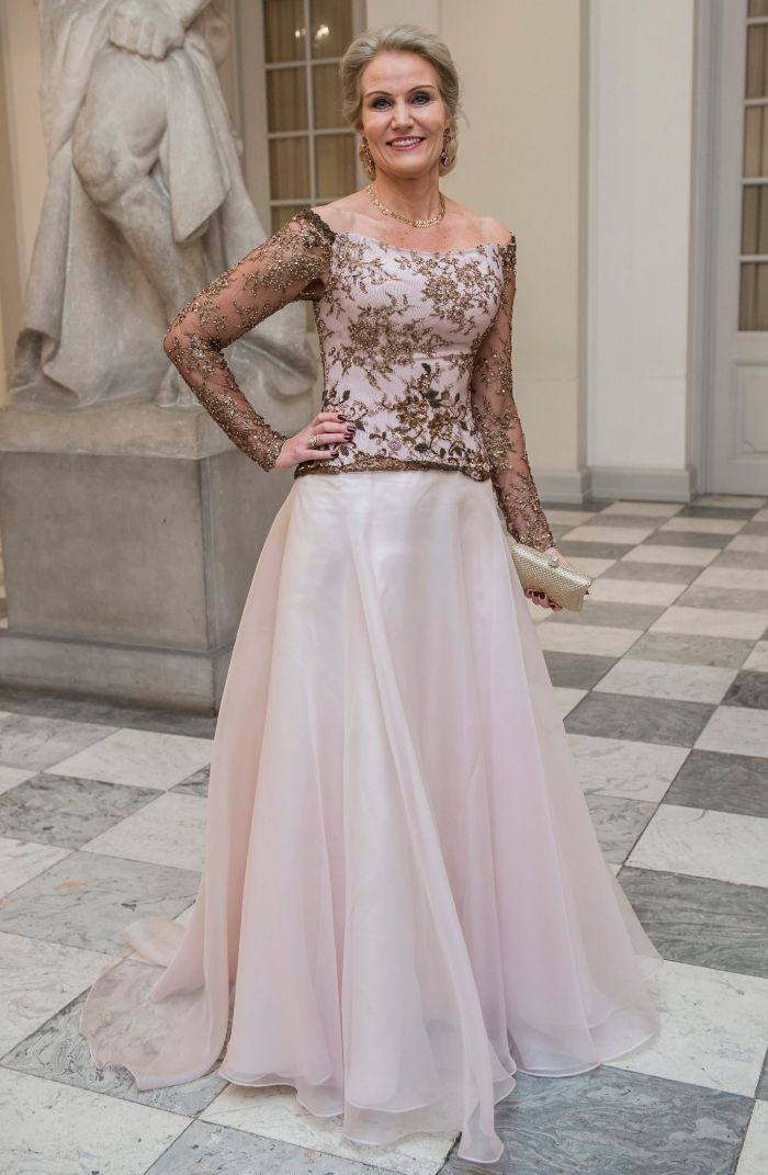 La bella primera ministra danesa, Helle Thorning-Schmidt.