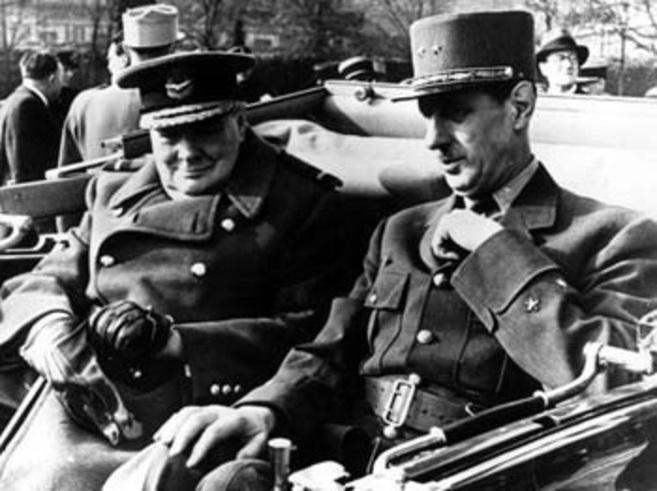 Exposición Churchill Y De Gaulle Enemigos Cordiales Contra