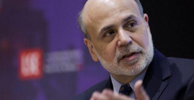 El ex presidente de la Fed, Ben Bernanke.