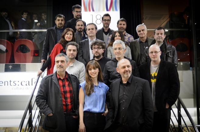 Foto de familia de los directores participantes en la Sección...