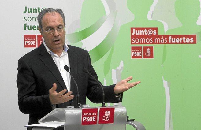 Juan Pablo Durán, en un acto del PSOE andaluz.